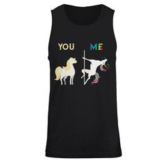 You Me Unicorn Pole Dance T-shirt Unisex