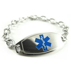 MyIDDr - EPILEPSY Medical Alert ID Bracelet PRE-ENGRAVED, ID Card Inld *** Click on the image for additional details.