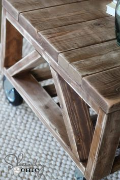 Rust-Oleum Ultimate Wood Stain in Early American
