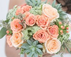 succulent wedding centerpieces roses - Google Search