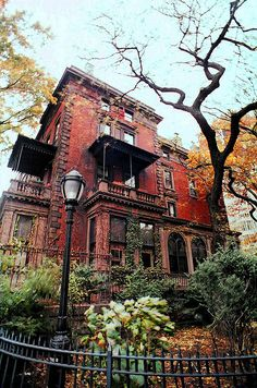 Mansion on The Promenade Brooklyn Heights, NY #nyc #newyorkcity #architecture