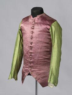 Waistcoat, c. 1760's, Dutch.
