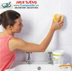 Không dùng hóa chất tẩy rửa, nhà tắm vẫn sạch bong - Bồn nuôi thủy sản   Composite Hoa Đăng
