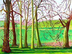 David Hockney Lichtval, plasticiteit, eigenschaduw, slagschaduw, planning, atmosferisch perspectief, dieptewerking