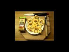 Apfelringe mit Zimt - YouTube