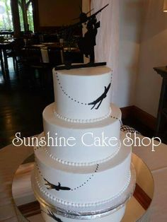 Airline Wedding Cake