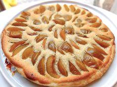 La tarte aux prunes, inspirée de Conticini