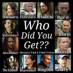 I got Daryl The Walking Dead Shane, Walking Dead Tv Series, Walking Dead Zombies, Walking Dead Memes, Judith Twd, The Walkind Dead, Merle, Daryl Dixon, Daryl Twd