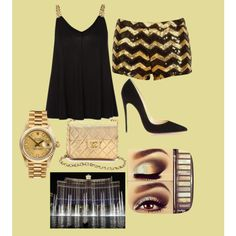 """Las Vegas Night Out"" by adrianalira2 on Polyvore"