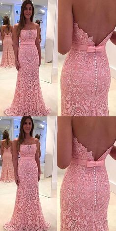Prom Dresses Boho, Pink Prom Evening Dress Luxurious Long Evening Dresses With Mermaid Trumpet Open-back Bowknot Dresses Shop prom dresses Boho,such as beading prom pieces prom dresses,chiffon prom dress,lace prom dresses Pageant Dresses For Teens, Prom Dresses Long Pink, Strapless Prom Dresses, Elegant Bridesmaid Dresses, Open Back Prom Dresses, Prom Dresses 2018, Prom Long, Dresses Dresses, Ball Gowns Prom