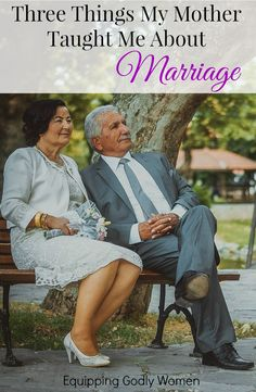 Looking for solid, trustworthy marriage advice? Look no further! This advice has stood the test of time!