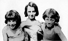 The Grimmond sisters - Violet, Gussie, and Connie