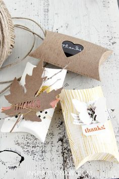 Fall packaging ideas