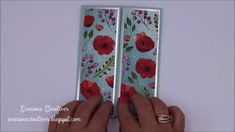 Fancy Fold Cards, Folded Cards, Cool Cards, Diy Cards, Beautiful Birthday Cards, Poppy Cards, Card Making Templates, Interactive Cards, Card Making Techniques