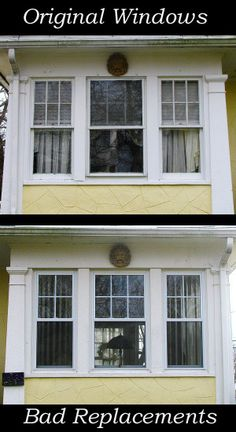 1000 images about old house restorations historic paint for Good replacement windows