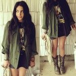 coat & shirt