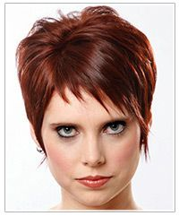 short wispy bangs (like them shorter like this, but probably wouldn't go with my current length)