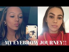 HOW TO GROW THICKER EYEBROWS | NATURALLY + FAST | My Secret Ingredient Tutorial - YouTube