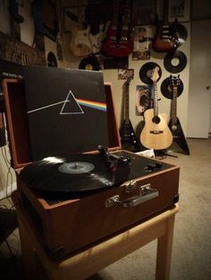 Pink Floyd on the turntable