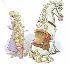 best. day. ever! All Disney Princesses, Disney Rapunzel, Princesa Disney, Tangled Rapunzel, Disney Characters, Princess Rapunzel, Princess Tiara, Disney Dream, Disney Love