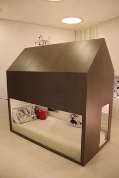 Boys room by TUBU Kids The Ikea Kura bed is even more versatile than you might imagine. You can paint it, add a canopy, wallpaper, garland…and also use plywood to build something custom (what do you think about making some pull-out drawers or build a little forest house?). The Kura bed is reversible, and it …