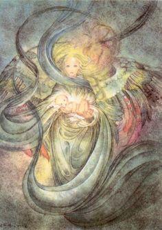 "Sulamith Wulfing ""Child"" Angel Child Fantasy High Quality Lithograph   eBay"