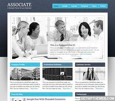 Associate 1.0.1 - StudioPress Free WordPress Theme Download