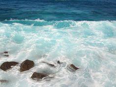 L'oceano visto dalle piscine Settembre 2015