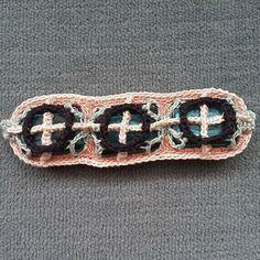 #crochet #glassbeads #fiberart #artwork #surfacecrochet by opal_ogre