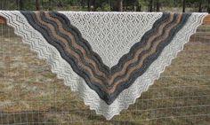 Emma - Shetland Lace Half Hap Shawl | Craftsy