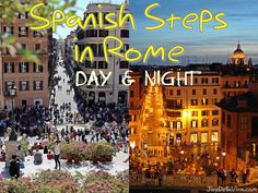 The #SpanishSteps and the Piazza di Spagna are one of the must-see's for Tourists in #Rome. During the day both the Piazza and the Steps are floaded with people and even during the evening there are still many around. Currently during spring/early-summer the flowers are blooming and creating everything in an even more picturesque atmosphere. - See more at: http://joydellavita.com/spanish-steps-in-rome-during-day-and-night/