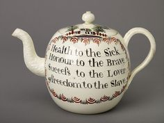 Teapot by Josiah Wedgwood & Sons, 1760-80 by Birmingham Museum and Art Gallery, via Flickr