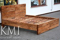 "łóżko ""FliP"" akacja natural"