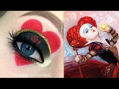 RED QUEEN (Queen of Hearts) Makeup Tutorial