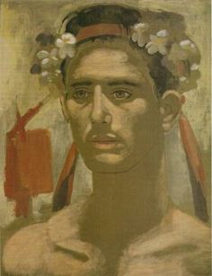 Yannis Tsarouchis Study for the month of May. Greece Painting, Queer Art, Art Of Man, Portraits, Caravaggio, Gay Art, Art Forms, Folk Art, Contemporary Art