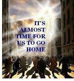 ❥ Almost time to go home!
