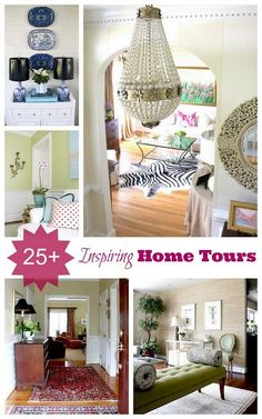 We have some new holiday home tours lined up for you! Be sure to check out some of these beautiful spaces and get Holiday decorating ideas for your home!