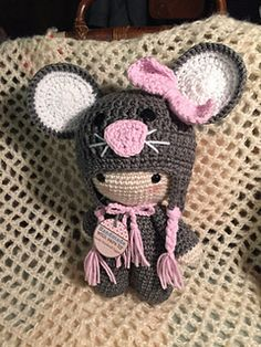 big head baby doll - mouse