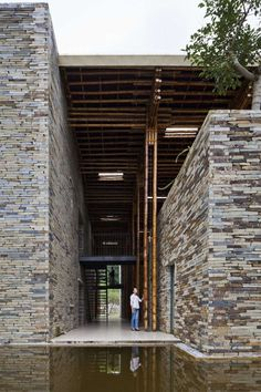 Son La Restaurant is an interesting new project by Vo Trong Nghia in the city of the same name in North Vietnam