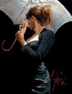 Summer Rain by Fabian PEREZ