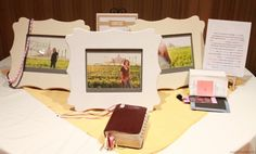 I like the picture of the YW in front of the temple framed as a take home gift possibly for YWIE