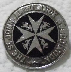 £2.20 paid THE ST JOHN AMBULANCE ASSOCIATION VINTAGE UNIFORM ENAMEL BADGE | eBay