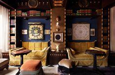 At New Orleans' Maison de la Luz Guest House, Ace Hotel Explores a More Intimate Take on Hospitality Ace Hotel, Hotel Lobby, New Orleans Hotels, New Orleans Decor, Downtown New Orleans, Lower East Side, Cocktail Bar Design, Bungalow, Grand Hall
