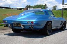 1965 Chevrolet Corvette SCCA SCTA Racer 396 Rear
