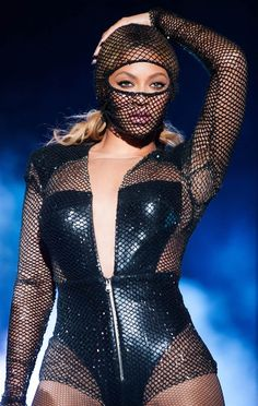 "Beyonce performs during the ""On The Run"" tour at the Georgia Dome in Atlanta, on July 15, 2014"