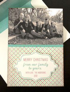Silhouette Blog: DIY Family Christmas Cards