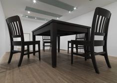 Artwork page for 'No Title (Table and Four Chairs)', Robert Therrien, 2003 Culture Day, Oversized Furniture, Tate Gallery, Everyday Objects, Room Set, Installation Art, Household Items, Furniture Design, Table Furniture