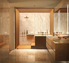 Fresh contemporary and luxury bathroom design ideas for your home. See more clicking on the image. Home Interior, Bathroom Interior, Decor Interior Design, Interior Design Living Room, Modern Bathroom, Master Bathroom, Interior Decorating, Master Baths, Bathroom Green