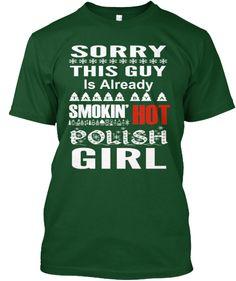 Smokin' Hot Polish Girl | Teespring