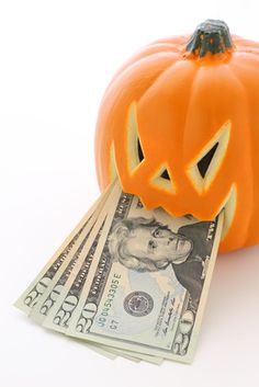 Spending money on a new Halloween costume for a one-time appearance at a party? That's scary. BOO! -- Shop in your own closet or borrow. | Use these tips to save money on costumes and party wear from SmartCollegeVisit.com